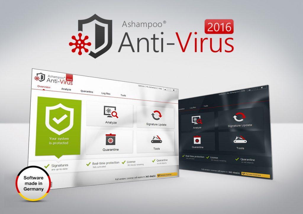 Ashampoo Antivirus registration key