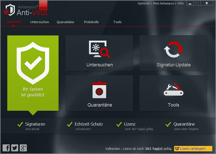 Ashampoo Antivirus serial number