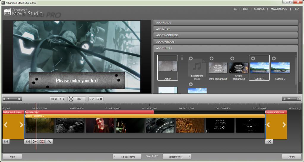 Ashampoo Movie Studio Pro license key
