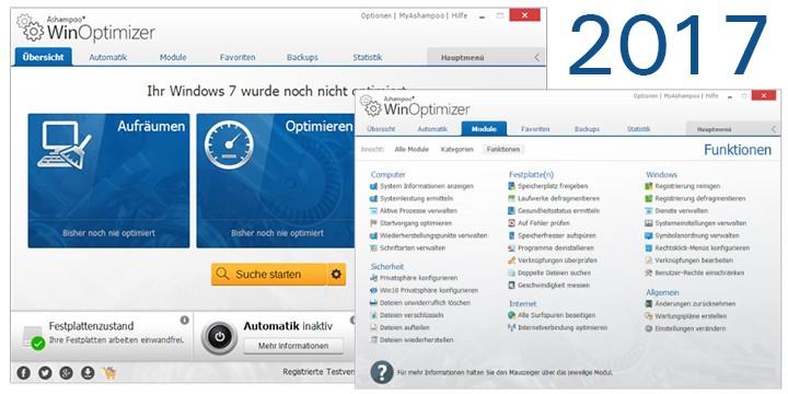 Ashampoo WinOptimizer 2017 latest version free download