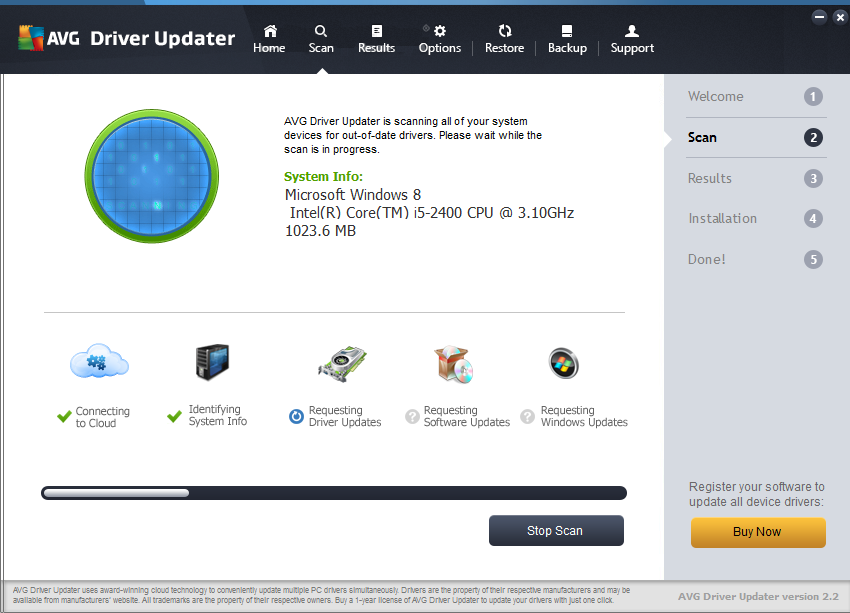 Important features of Avg driver updater 2017