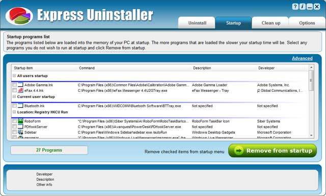 Express Uninstaller keygen