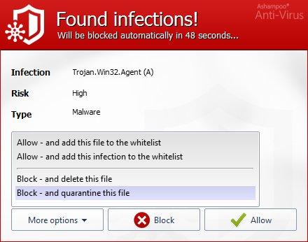 Ashampoo Antivirus 2017 patch notes