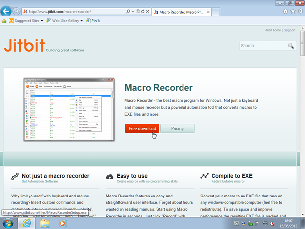 Jitbit Macro Recorder activation number