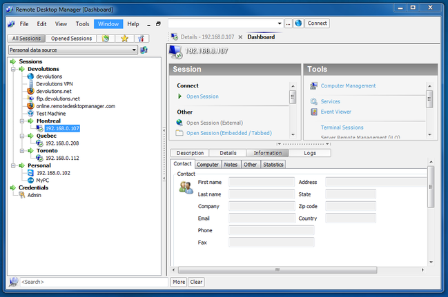 Remote Desktop Manager Free Download Full Version With Crack