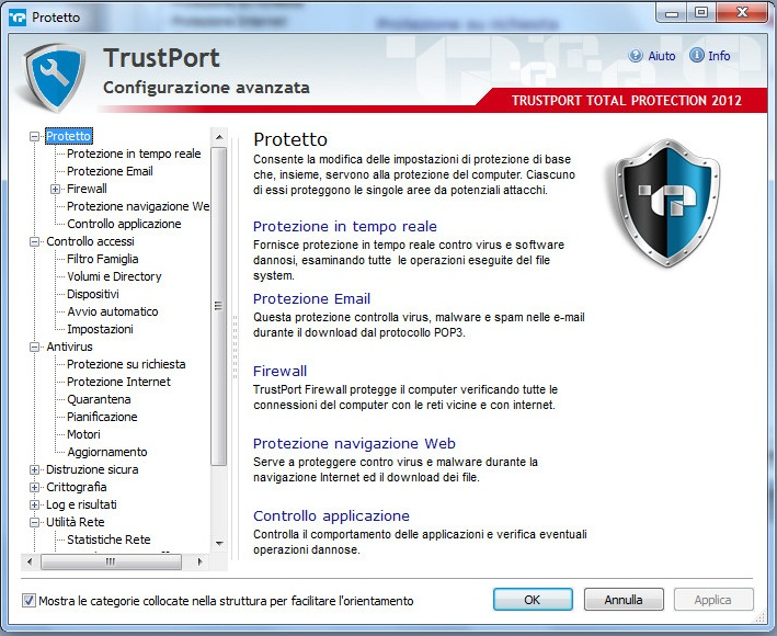 TrustPort Total Protection registration forms