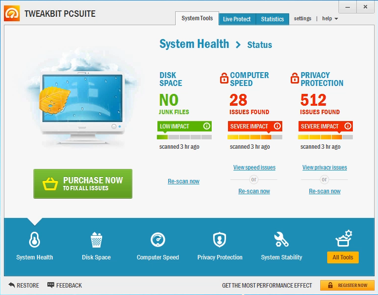 TweakBit PCSuite serial key