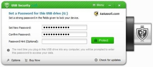 USB Secure activation key