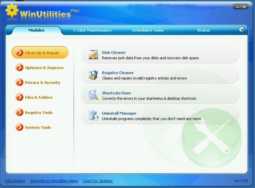 WinUtilities Pro license code