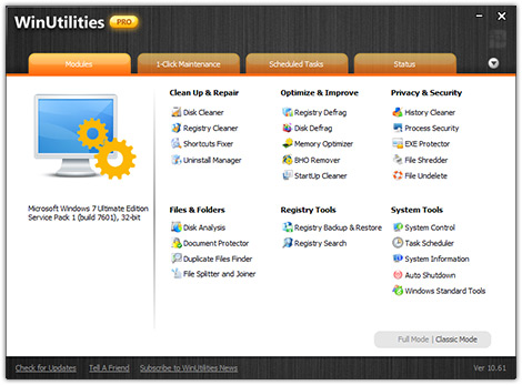 WinUtilities Pro product key