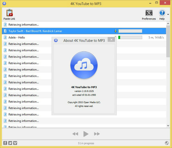 4K YouTube to MP3 Portable