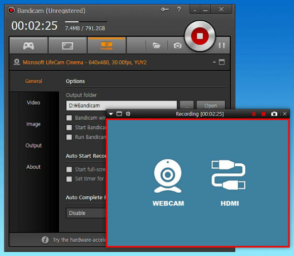 Bandicam Video Recorder