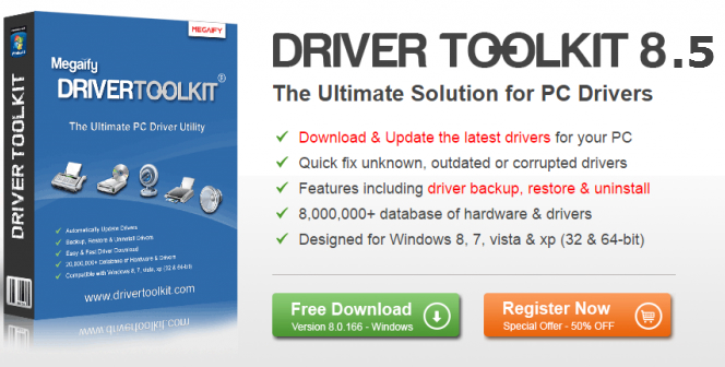 Driver Toolkit 8.5 Crack Keygen