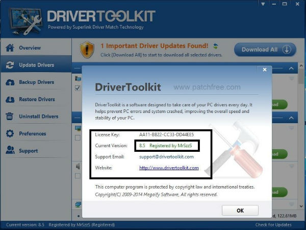 Driver Toolkit Crack Serial Key