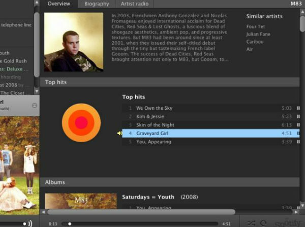Spotify Music Player / Web Player Download