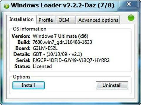 Windows 7 Activator Key Generator