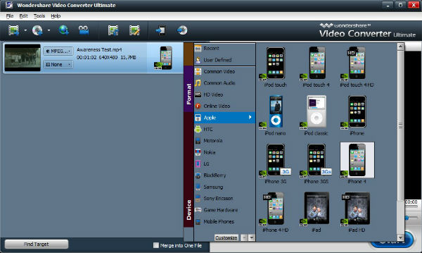 Wondershare Video Converter Portable