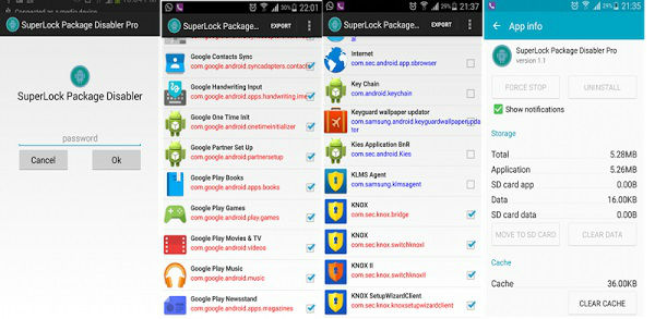 Package Disabler Pro APK Free Download