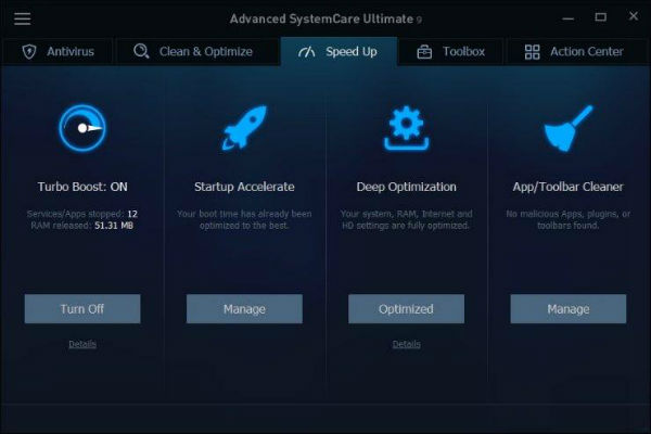 IObit Advanced SystemCare Ultimate Speed