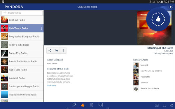 Pandora APK for Android
