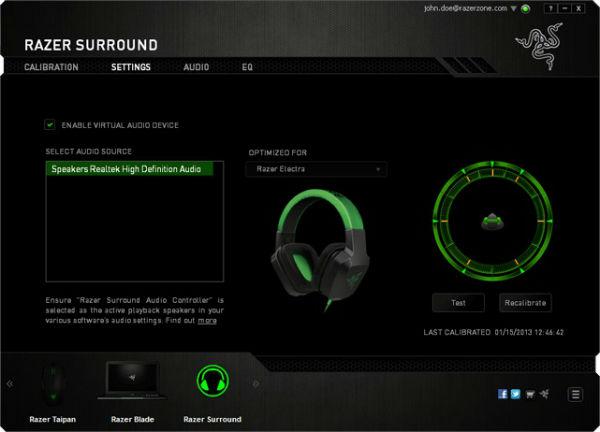 Razer Surround Personalized 7.1