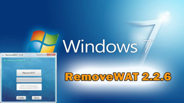 RemoveWAT 2.2.6 Software