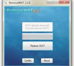 RemoveWAT Logo
