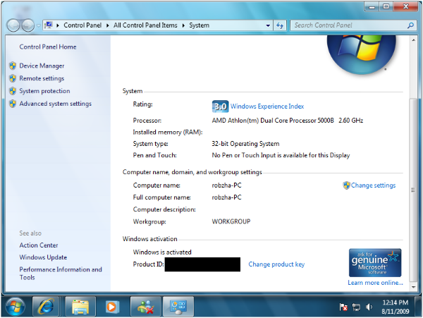 Removewat 2.2.9 Windows 7, 8, 8.1