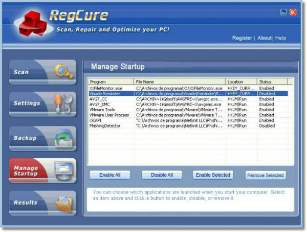 RegCure Pro License Key