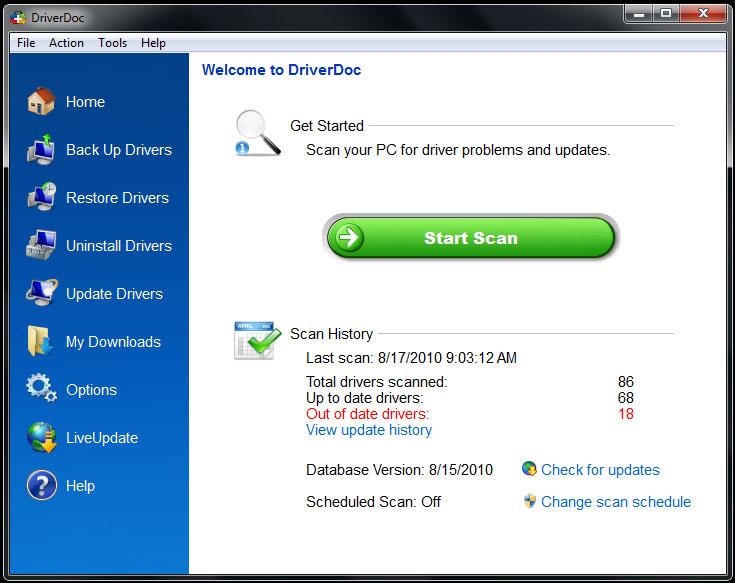 DriverDoc Crack Serial Key