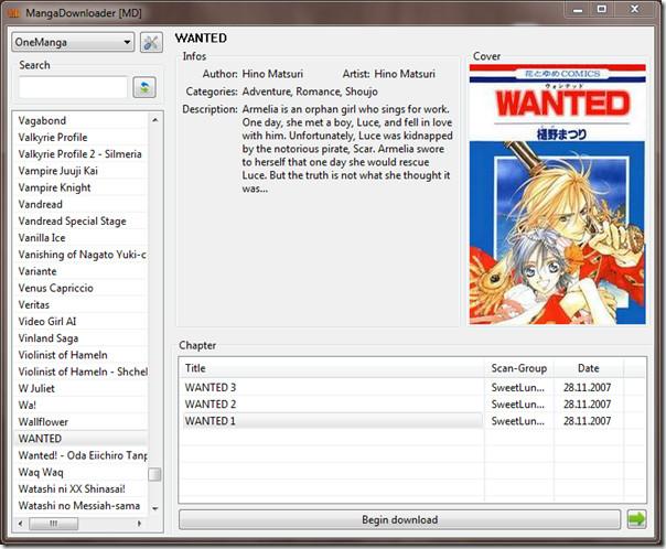 Manga Downloader fo Mac