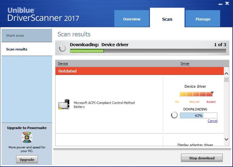 Download Uniblue DriverScanner 2017