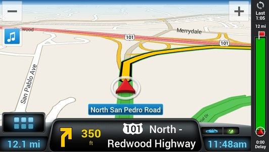 Sygic GPS Navigation Highway