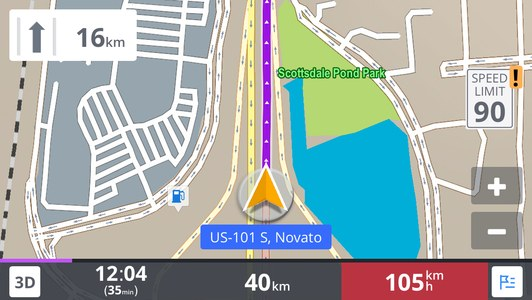 Download Sygic GPS Navigation For Android