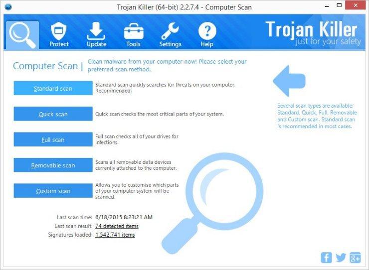 Trojan Killer Portable Edition