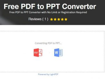 Converting PDF To PPT With No Limit